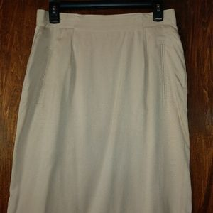 Patrick Collection Silk Skirt